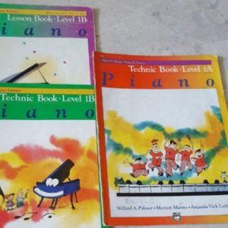 Alfred piano technic book 1A 1B