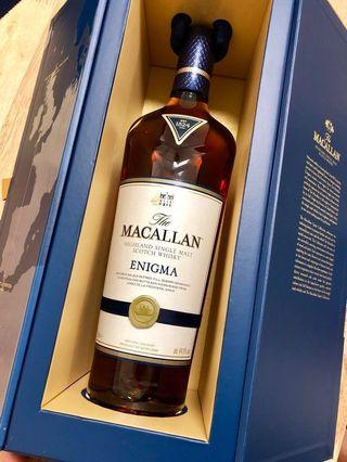 Macallan Enigma 湛藍
