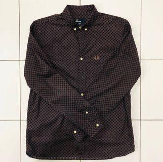 Fred Perry Long Sleeves Button Down Shirt