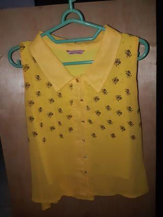 Yellow Top Deiva ( Boutique )