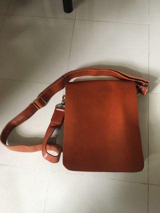 Leather shoulder Bag 真皮袋