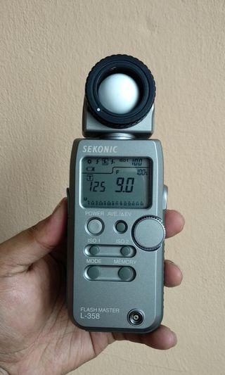 Studio Sekonic 358 lightmeter
