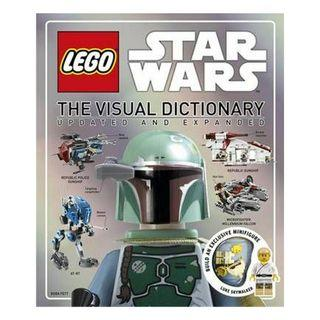 LEGO Star Wars The Visual Dictionary (With Luke Skywalker minifigure) Book (RRP: RM151.70)