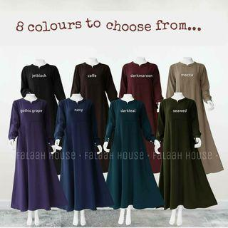 Long Dress Jubah Muslimah