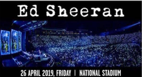 🚚 Ed Sheeran