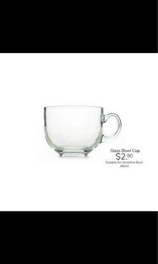 Premium Glass Bowl Cup