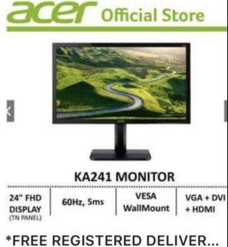 """🚚 Acer 24"""" Monitor KA241"""