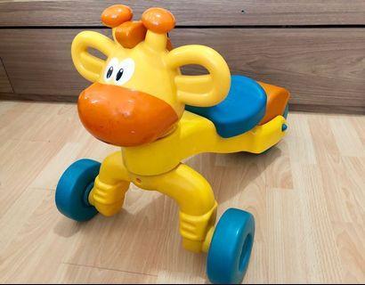 little tikes giraffe ride on BB 長頸鹿學行車 學步車仔 嬰兒玩具 baby walker rider toy