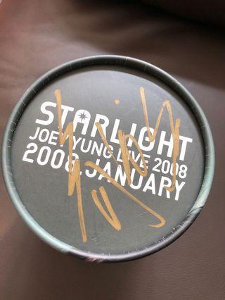 Joey Yung Live 2008 Starlight Concert 親筆簽名Tee
