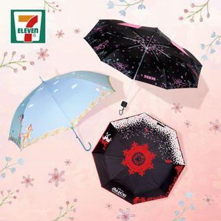 香港代購 7-11 最新 迪士尼產品 雨傘