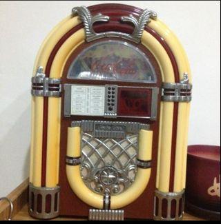 🚚 可口可樂復古收音機卡帶式