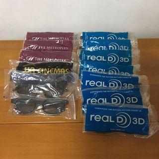 Real 3D glasses 3D 眼鏡