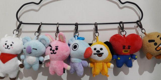 [READY STOCK] Unofficial BT21 Plush Doll