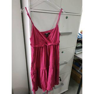 Purple Mini Dress DKNY Women
