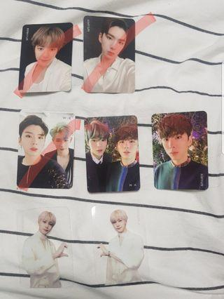 [WTS] Monsta X Take 2 We Are Here Photocards