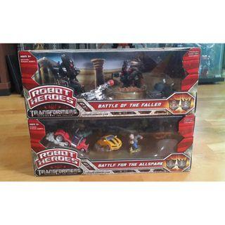TRANSFORMERS ROTF ROBOT HEROES FIGURINES SET OF 2