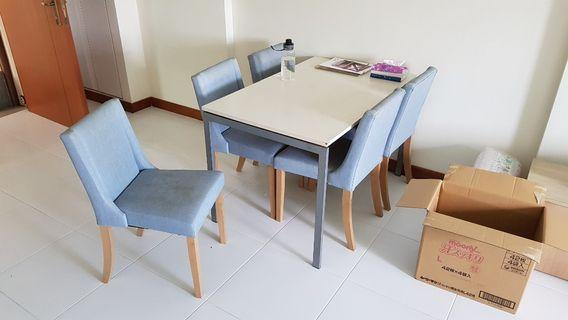 Table & 6 Chairs for sale CHEAP