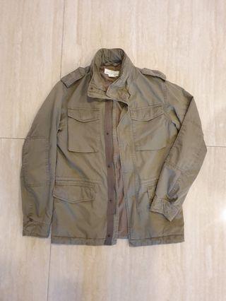 H&M M65軍裝風夾克