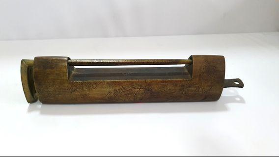 Vintage Chinese Box Padlock