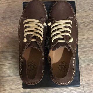老船長 休閒鞋 男鞋 皮鞋 休閒皮鞋 尺寸43