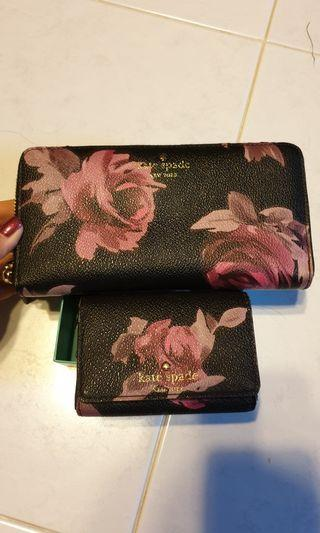 Kate spade wallet and coin purse