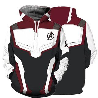 Avengers End Game Hoodies Shirts Superheroes 3d Cosplay