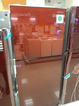 Kulkas Sharp 2 Pintu Bisa Credit proses cepat hanya 3 menit