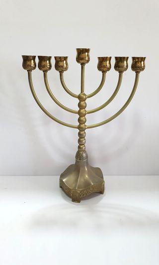 Menorah (Brass)