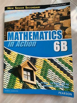 全新New senior secondary Mathematics in Action 6B