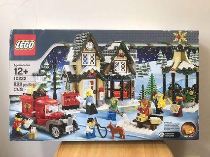 LEGO Holiday WINTER VILLAGE POST OFFICE # 10222 822 pcs NEW & SEALED