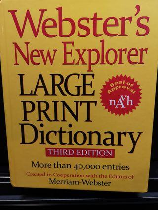 Dictionary Large Print