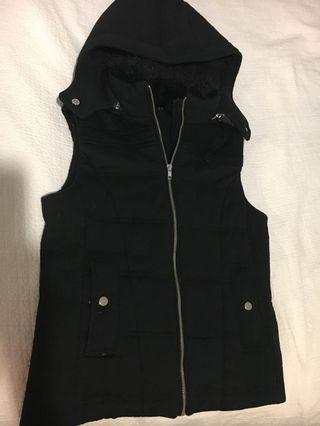 French connect winter vest