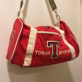 [ 已售出 ]古著TOMMY圓筒包 旅行袋 側背包 / Tommy Hilfiger Vintage Duffle Bag