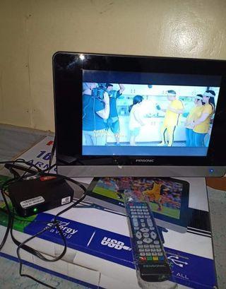 "pensonic led tv 16"" with tv plus"