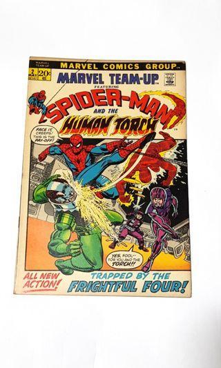 MARVEL TEAM UP #2 SPIDER-MAN & HUMAN TORCH #EndgameYourExcess
