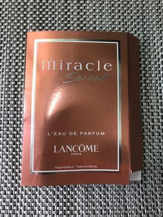 Lancome Miracle Secret 香水sample 1.2ml