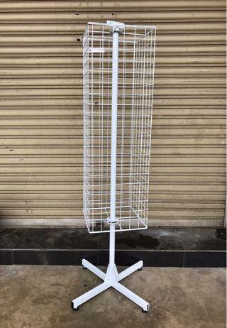Display Netting Rotate Castor Wheel