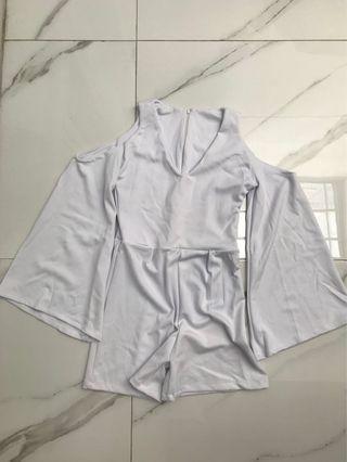 Jumpsuit White 2