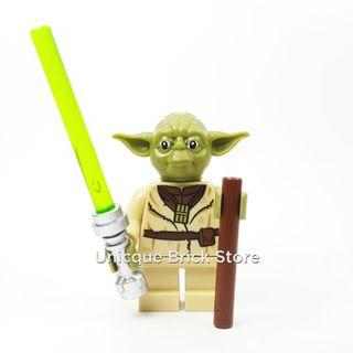 🚚 #EndgameYourExcess Lego Disney Star Wars Minifigure - Yoda (sw0906)
