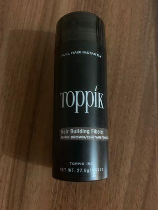美國toppik hair building fibers (稀疏頭髮專用)