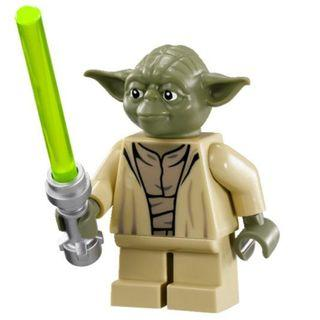 🚚 #EndgameYourExcess Lego Disney Star Wars Minifigure - Yoda (sw0707)