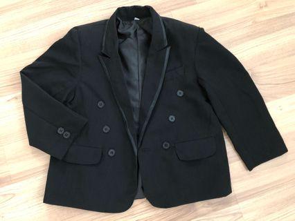 Preloved boy black jacket/ blazer 3-4T