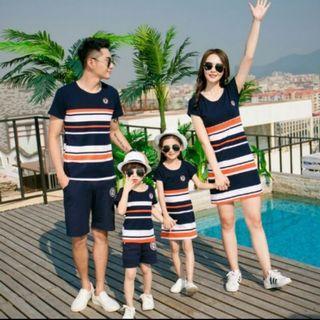 🚚 韓國親子洋裝母女款S/110-120