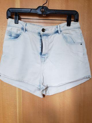 Zara 短牛仔褲