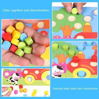 Mainan Edukasi sortir warna
