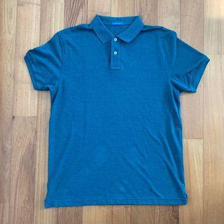 Men's Navy & Navy polo shirt