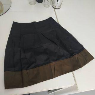 Country Road Black Brown Skirt