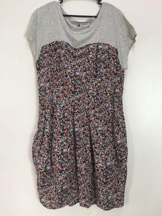 Just G. Floral Dress