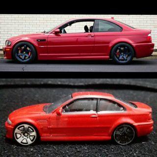 FAST-WHEELS 絕美車型 BMW E46 M3