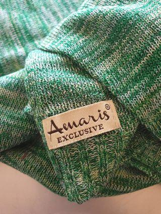 Amaris stonehenge rainbow green Knitted rm20 New